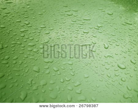 close up shot of water droplets on window
