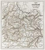 picture of dauphin  - Eastern Dauphine old map - JPG