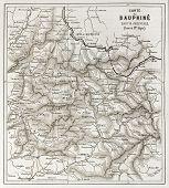foto of dauphin  - Eastern Dauphine old map - JPG