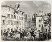 pic of bonaparte  - Bonaparte house old view - JPG