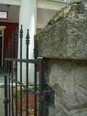 Gate To Historic Inn poster