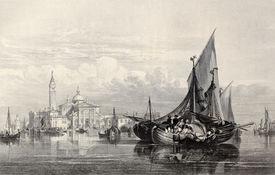image of luigi  - Antique illustration of  San Giorgio Maggiore island - JPG