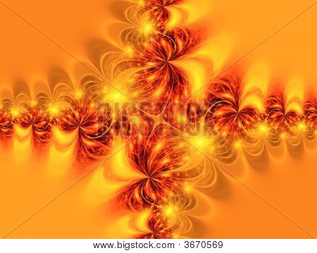 Christmas And New Year Ornamental  Background