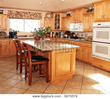Bright Casual Modern Kitchen