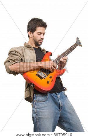 Asian Guitarist