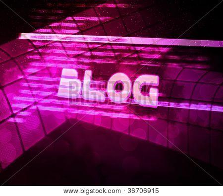 Blog Violet Source Code Background
