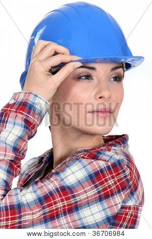 Tradeswoman with a vision