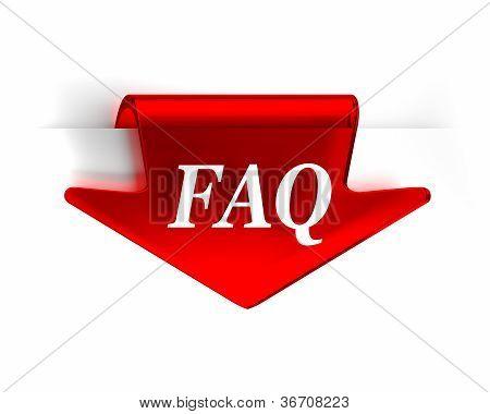 FAQ rojo