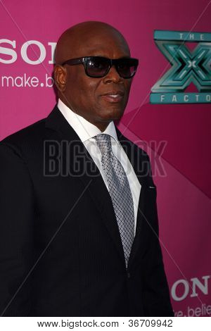 "LOS ANGELES - SEP 11:  Antonio ""LA"" Reid arrives at the FOX Season 2 Premiere of X-Factor at Graumans Chinese Theater on September 11, 2012 in Los Angeles, CA"