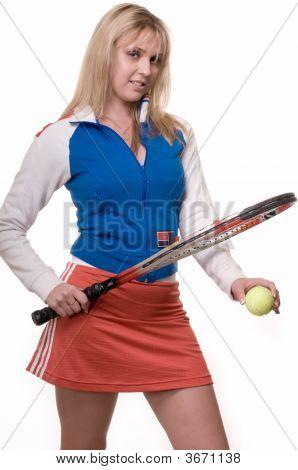 Blond Tennis Player