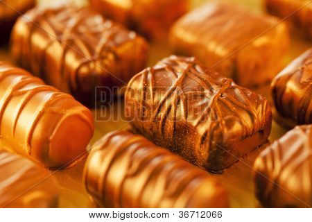 Chocolate Candy Close Up