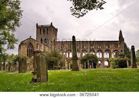 Ruins Of The Jedburgh Abbey