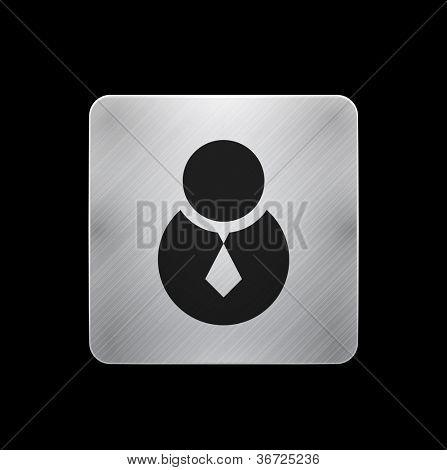 Mobile app icon / button