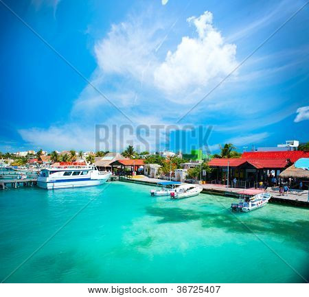 Mexico.Isla Mujeres,Cancun