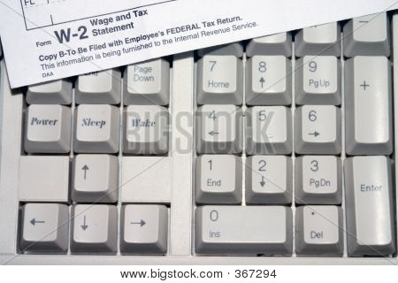 Tax Keyboard
