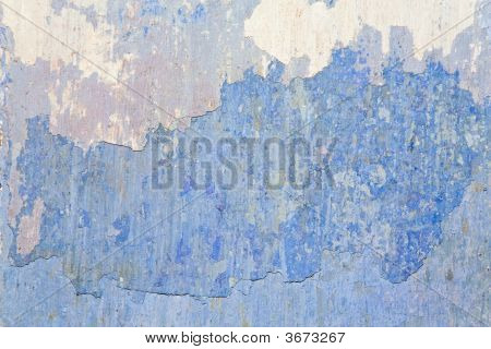 Old Blue Wall