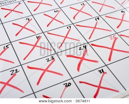 X d aus Kalender