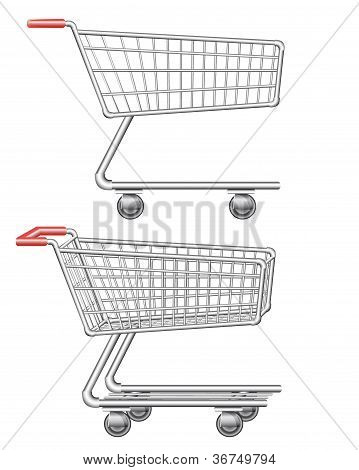 Shopping Cart Vector Illustration