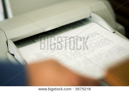 Faxing The Nda