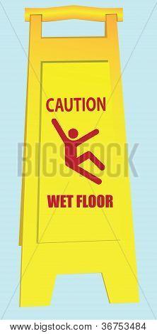Wet Floor - Caution