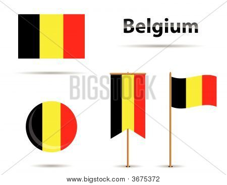 Belgium Flags