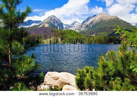 Lake In Slovakia