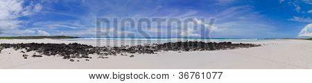 Galapagos tortuga bay, panorama beach
