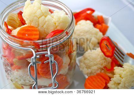 Pickled Giardiniera Salad