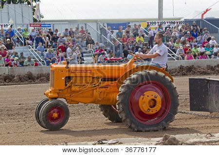 Minneapolis Moline Zb Tractor Pulling