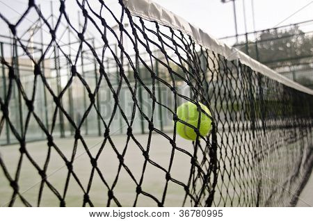 Ball Hit Net
