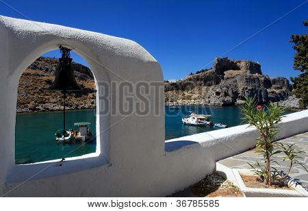 St Pauls Bay Lindos Rhodes Greece
