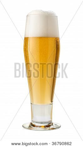 Classic Pilsner (beer) Isolated
