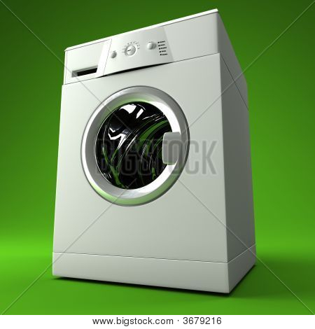 Classic 3D Washing Machine
