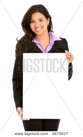 Business Woman Billboard