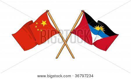 China And Antigua And Barbuda Alliance And Friendship
