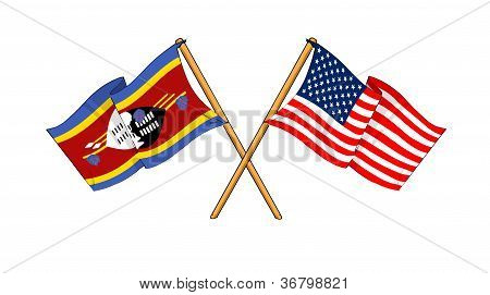 America And Swaziland Alliance And Friendship
