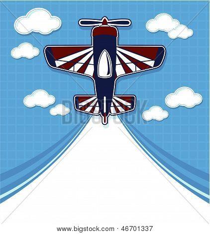 funny airplane cartoon