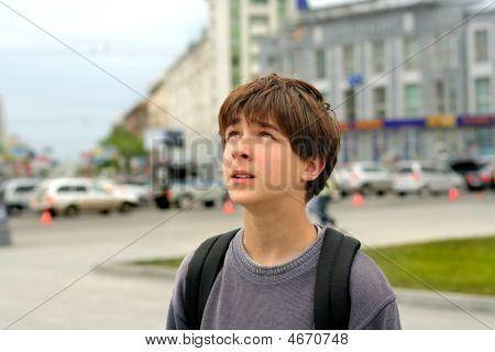 Worried City Boy