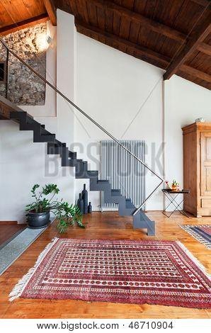 beauty house, interior