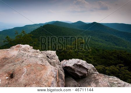 View Of The Appalachian Mountains From Duncan Knob