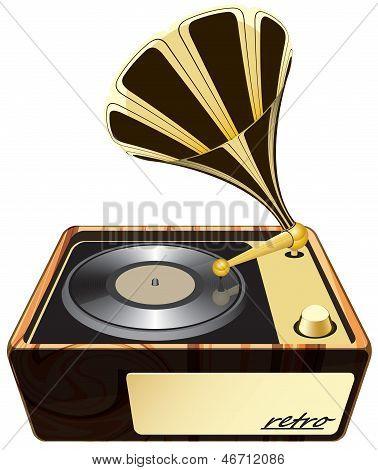 gramophone, phonograph