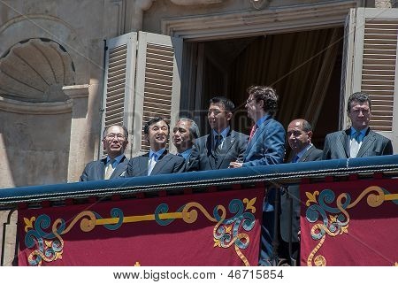 Japan's Prince Naruhito - Salamanca -13-06-2013