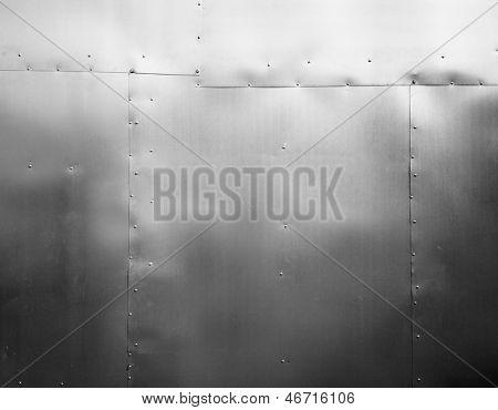 Metal texture, tin background