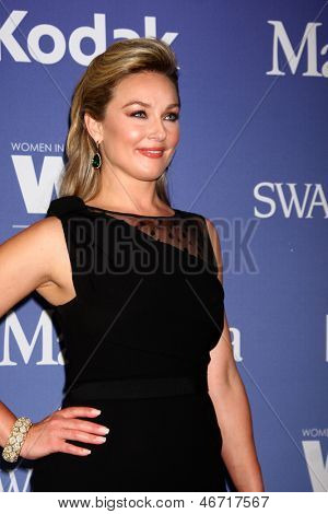 LOS ANGELES - JUN 12:  Elisabeth Rohm arrives at the Crystal and Lucy Awards 2013 at the Beverly Hilton Hotel on June 12, 2013 in Beverly Hills, CA