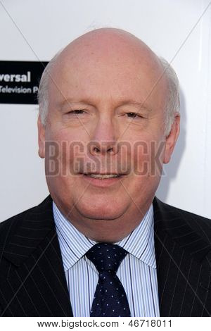 LOS ANGELES - JUN 10:  Julian Fellowes arrives at An Evening with Downton Abbey at the Leonard H. Goldenson Theater on June 10, 2013 in North Hollywood, CA