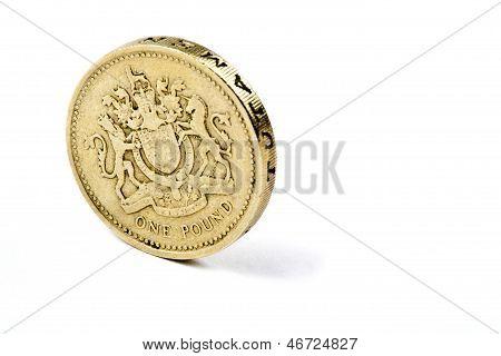A British 1 Coin