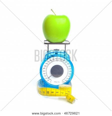 Weighing An Apple