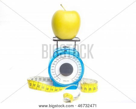 Loosing Weight On Apples