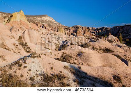 Cappadocia bizzare rock formations