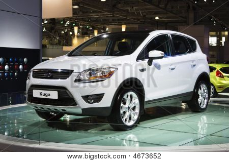 Moscow, Russia - 28 August, 2008: Ford Kuga At Moscow International Exhibition Motorshow 2008, Mosco